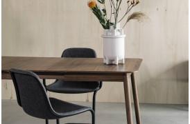 Glimps spisebord med udtræk i valnød fra Zuiver.