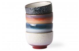 nudel skåle i keramik fra HKliving i deres 70'er kollektion.