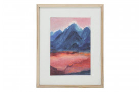 Tiny Art Frame - Sunset