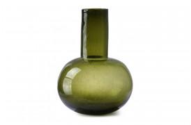 Smuk grøn glasvase fra HKliving.