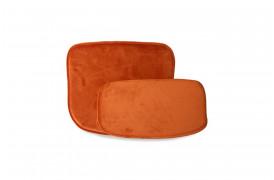 Hyndesæt i orange velour fra HKliving.
