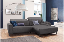 Empire sofaen fra Indomo ses her i farven Easy Care - Grey.