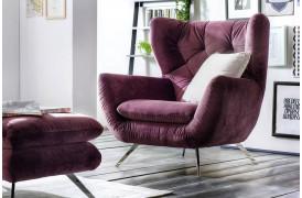 Sixty serien tilbyder blandt andet denne lænestol fra Indomo.