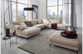 Uptown er en sofa, der vil stå flot i mange skandinaviske stuer.