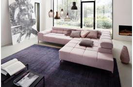 Wilson sofaen fra Indomo ses her i farven Vintage - Rosa.