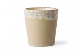 Kaffekop i nuancen Bark fra serien 70'er keramik.
