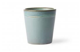 Kaffekop - Mosgrøn fra HKlivings serie 70'er keramik.