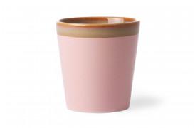 Kaffekop - Pink fra HKlivings serie 70'er keramik.