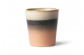 Kaffekop i nuancen Tornado fra 70'er keramik.