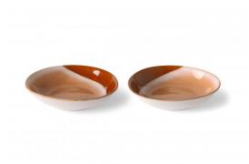 Karry skåle - Hills fra HKlivings serie 70'er keramik.