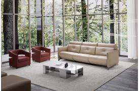 Abile ll sofaen er med dens motoriserede og el-drevne elementer i sig en stor oplevelse.
