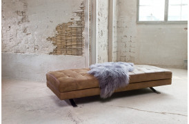 Kelvin Giormani daybed'en Sorano daybed kan ses i vores butik i Aarhus.