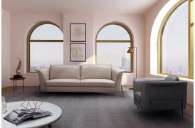 Uccello l lædersofaen er en sofa nyhed hos BoShop.