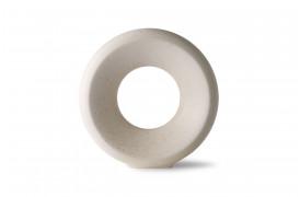 Keramik cirkel vase - Hvid fra HKliving.