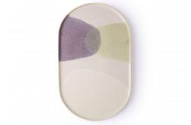 Middagstallerken fra HKlivings serie Gallery keramik.