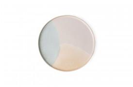 Rund sidetallerken fra HKlivings serie Gallery keramik.