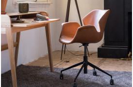 Nikki kontorstol i brun fra Zuiver.
