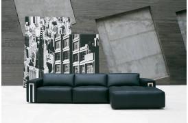 Her på billedet ses en Kelvin Giormani lædersofa med navnet Levice Il.
