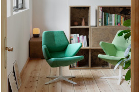 Trifidae stoleseriens Trifidae Easy lænestol er også en unik stol fra Prostoria.