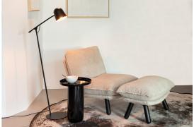 Lau gulvlampe i sort fra Zuiver.