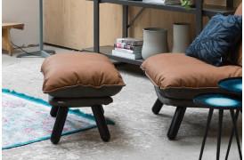Her ses er billede af Lazy sack fodskammel i brun fra Zuiver.