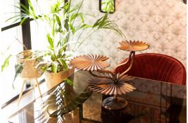 Her ses et billede af Leela bakke fra Dutchbone.
