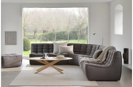 Her ses et billede af N701 sofaer og moduler i mørk grå fra Ethicraft.