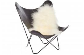 Islandsk fåreskind - Off white 120+