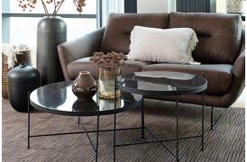 Det elegante Garth sofabord fås i to størrelser fra NordKomfort.