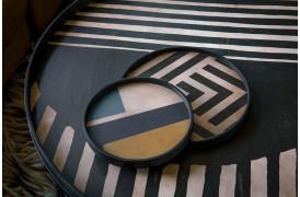 Ethnicraft har lanceret en Mini bakke kollektion i nogle flotte Art Deco-farver.