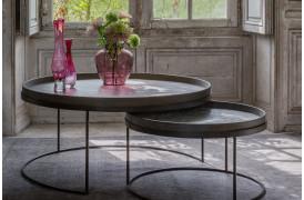Notre Monde tilbyder nu et Round sofabord XL sammen med et stort Round sofabord.