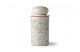 Fineste opbevaringskrukke fra HKlivings serie 70'er keramik.