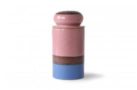 Keramisk opbevaringskrukke - Reef fra serien 70'er keramik.