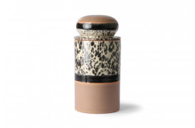 Opbevaringskrukke - Tropical fra HKlivings serie 70'er keramik.