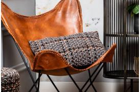 Padrao pude i mørkebrun og orange