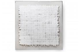 Papirskunst indrammet i plexiglas