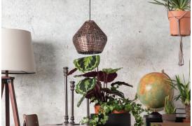Her ses et billede af Cooper loftslampe / pendel i kobber fra Dutchbone.