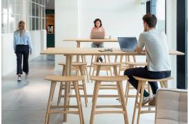 Her ses Profile Eg mødebordet i et aktivt kontormiljø.
