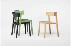 Bik er en stol, der er reduceret til dens grundlæggende elementer.