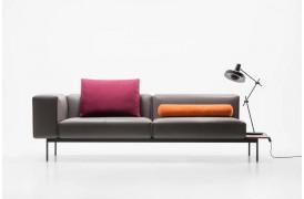 Billedet viser en af de mange muligheder på Convert sofaen fra Prostoria.
