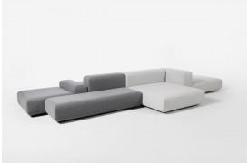 Klaster er en lounge sofa til arbejdspladen eller derhjemme til fra Prostoria.