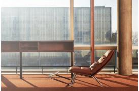 Kontrapunkt lænestolens design er helt unikt på møbelmarkedet.
