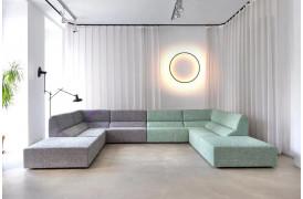 Layout er en lounge sofa til hjemmet eller til lounge området på arbejdspladsen.