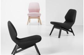 Oblique er en flot lænestol fra Prostoria, der har en fantastisk siddekomfort.