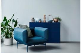 Segment lænestolen er med dets elegante design en stol, der bliver lagt mærke til.