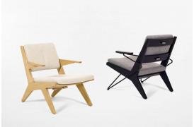 Toggle er en uhøjtidelig lænestol med små dimensioner fra Prostoria.