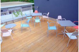 Trifidae bordserien er borde til udendørs brug i 10 forskellige modeller.