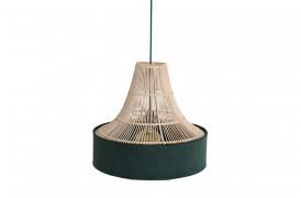 Her ses et billede af Sauve circus loftslampe i grøn fra vores Unika Collection.