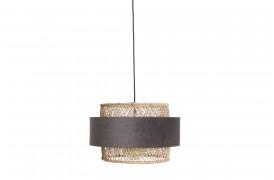 Her ses et billede af Sauve cylinder lampe i grå fra vores Unika Collection.