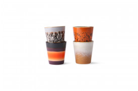 Fineste ristretto kopper i forskellige nuancer fra 70'er keramik serien.